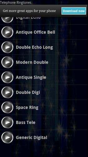 Telephone Ringtones screenshot 2