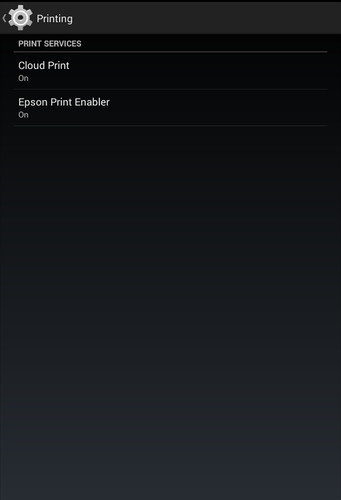 Free Epson Print Enabler cell phone app