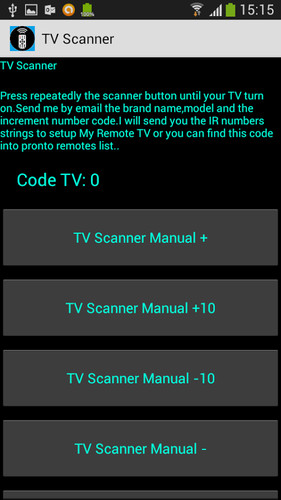 Power Universal Remote Control screenshot 5