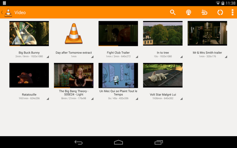 Free VLC for Android beta cell phone app