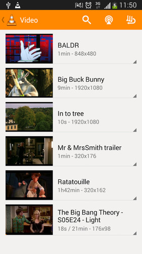 VLC for Android beta screenshot 5