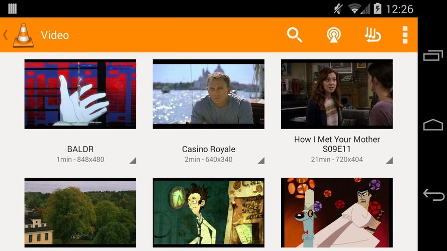 VLC for Android beta screenshot 8