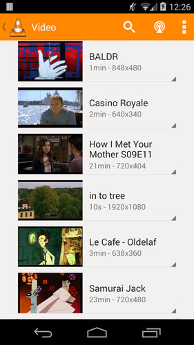 VLC for Android beta screenshot 12