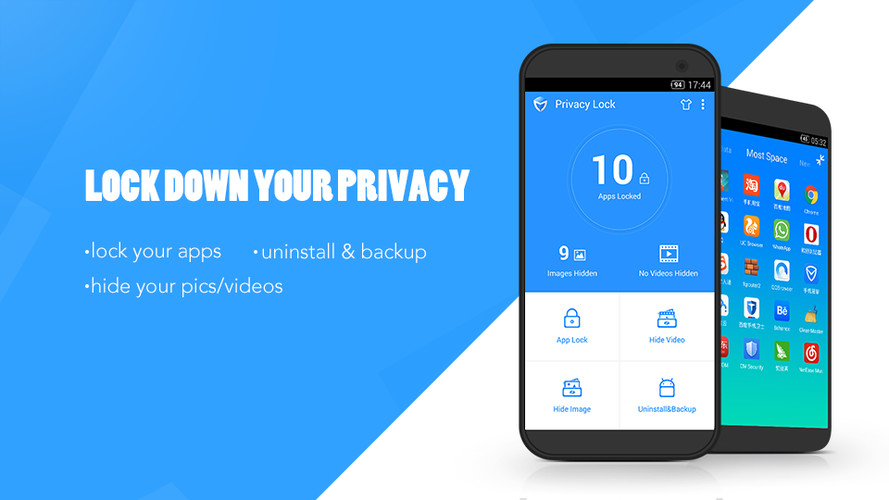 Free Privacy Lock cell phone app