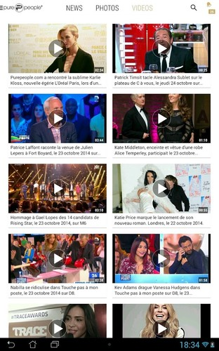 PurePeople: actu & news people screenshot 3