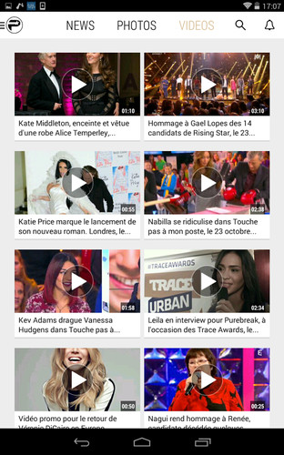 PurePeople: actu & news people screenshot 11