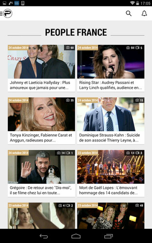 PurePeople: actu & news people screenshot 12
