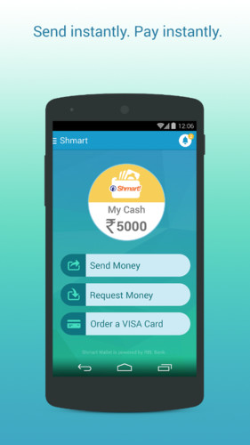 Shmart! Wallet- Go Cash Free screenshot 2
