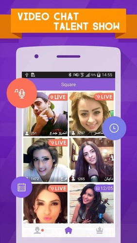 Free 7Nujoom-Video&Talent Show&Chat cell phone app