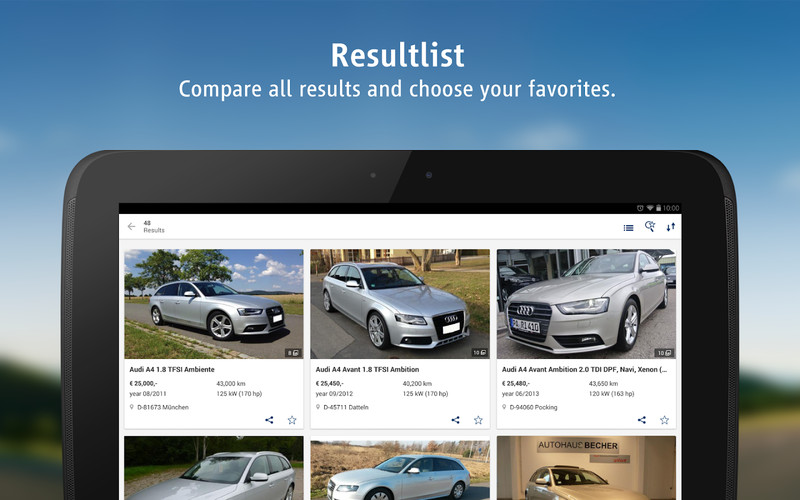 AutoScout24 - used car finder screenshot 2