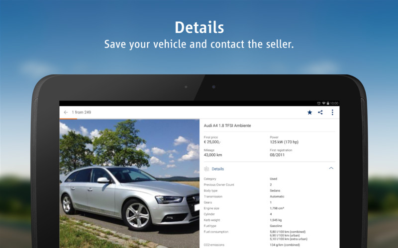 AutoScout24 - used car finder screenshot 3