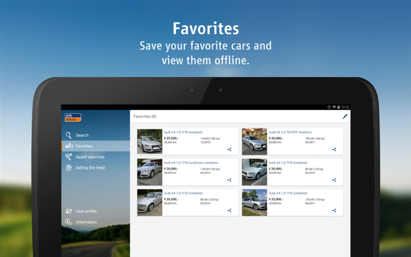 AutoScout24 - used car finder screenshot 6