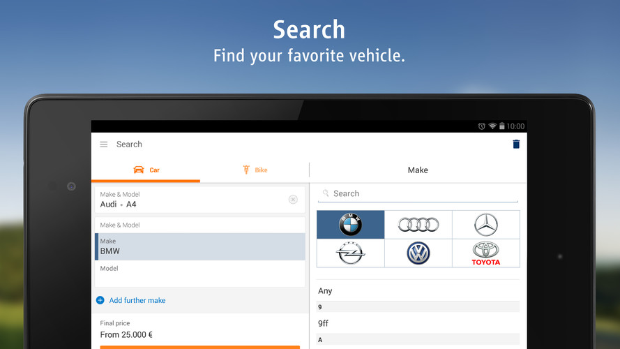 AutoScout24 - used car finder screenshot 9