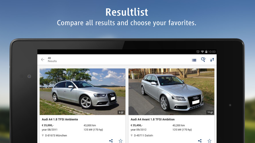AutoScout24 - used car finder screenshot 10