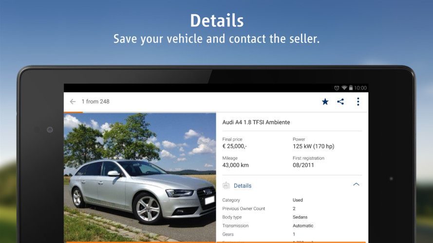 AutoScout24 - used car finder screenshot 11