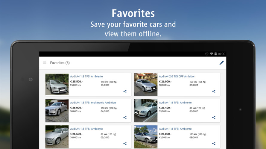 AutoScout24 - used car finder screenshot 14