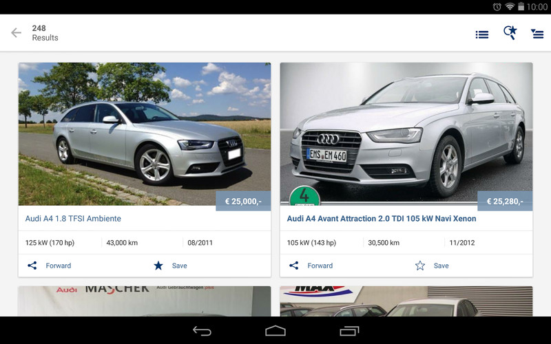 AutoScout24 - used car finder screenshot 15
