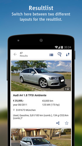 AutoScout24 - used car finder screenshot 18