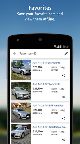 AutoScout24 - used car finder screenshot 22