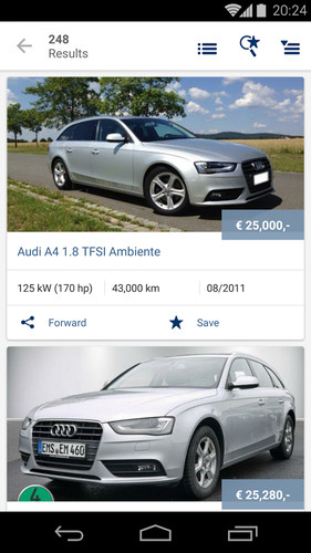 AutoScout24 - used car finder screenshot 23