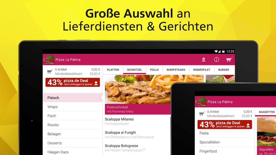 pizza.de - order food online screenshot 12