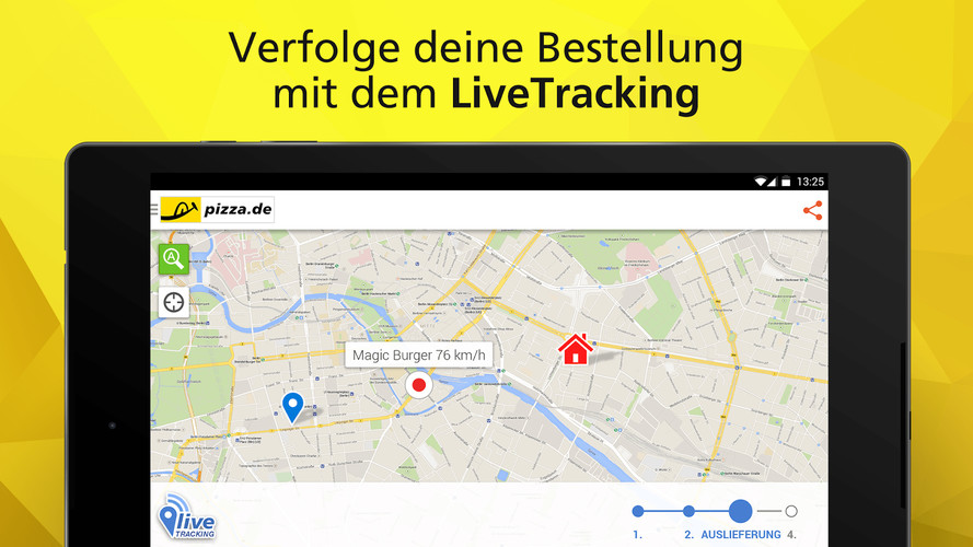 pizza.de - order food online screenshot 14