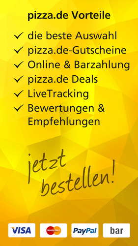 pizza.de - order food online screenshot 24