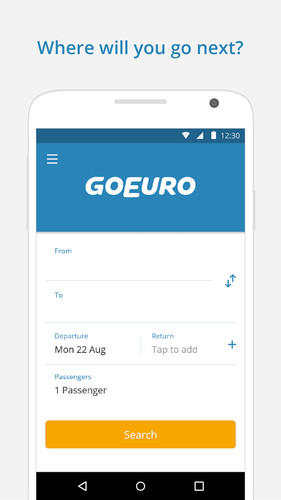 GoEuro: trains, buses, flights screenshot 5