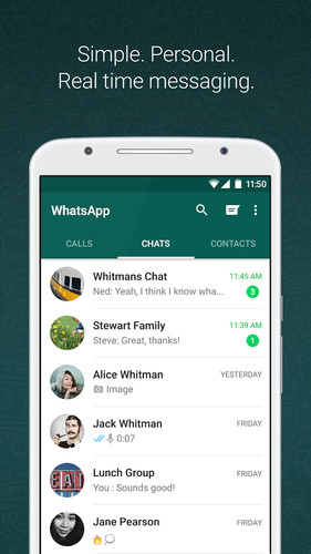 Free WhatsApp Messenger cell phone app