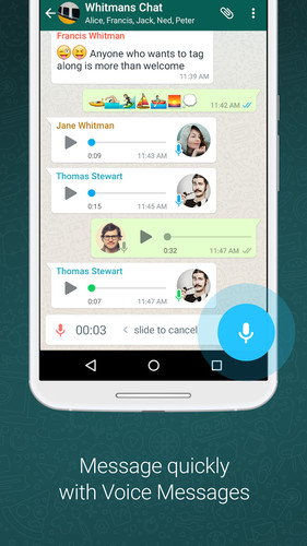 WhatsApp Messenger screenshot 4