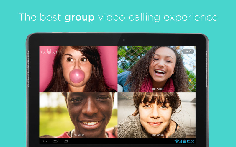 Free ooVoo Video Call, Text & Voice cell phone app