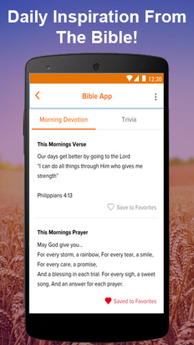 Bible App: Daily Bible Verses & Bible Caller ID screenshot 1