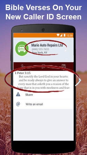 Bible App: Daily Bible Verses & Bible Caller ID screenshot 2