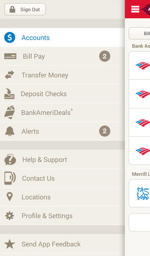 Bank of America screenshot 11