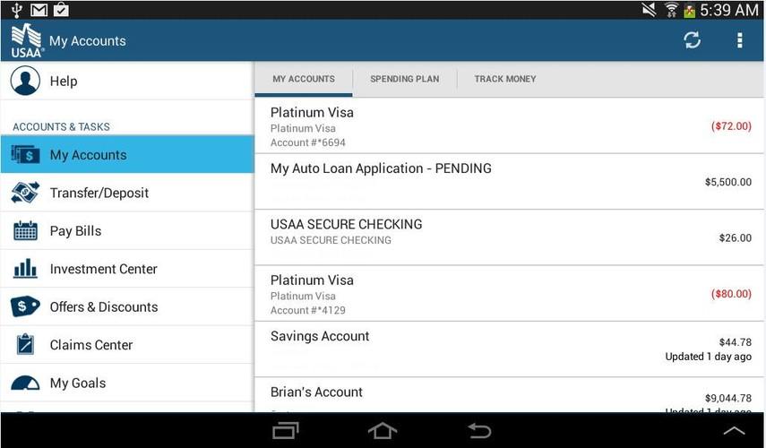 Usaa Car Loan Calculator >> Free USAA Mobile cell phone app