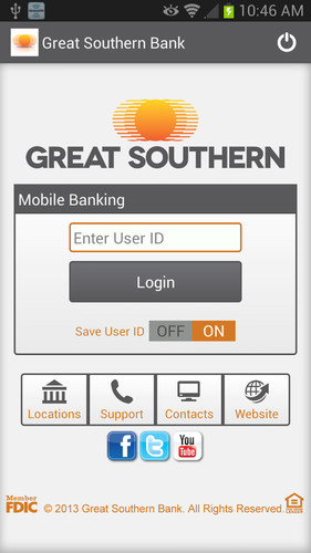 Great Southern Mobile Banking screenshot 2