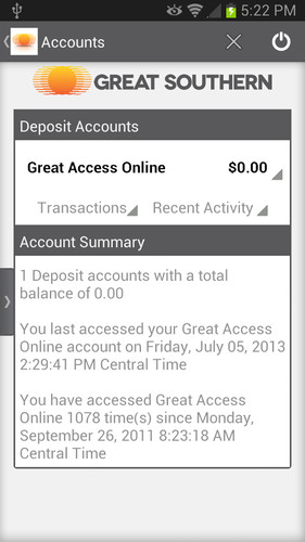 Great Southern Mobile Banking screenshot 4