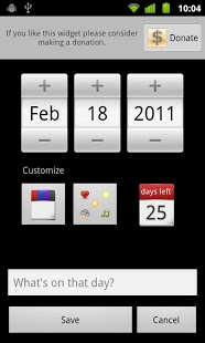 Days Left Widget Pro screenshot 3