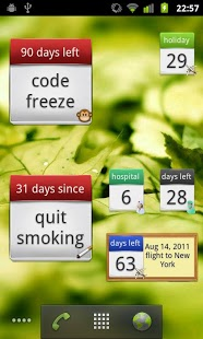 Days Left Widget Pro screenshot 5