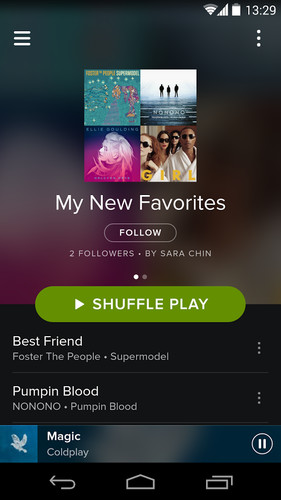Spotify screenshot 8
