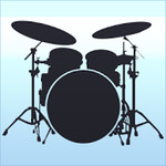 Drum set: drums