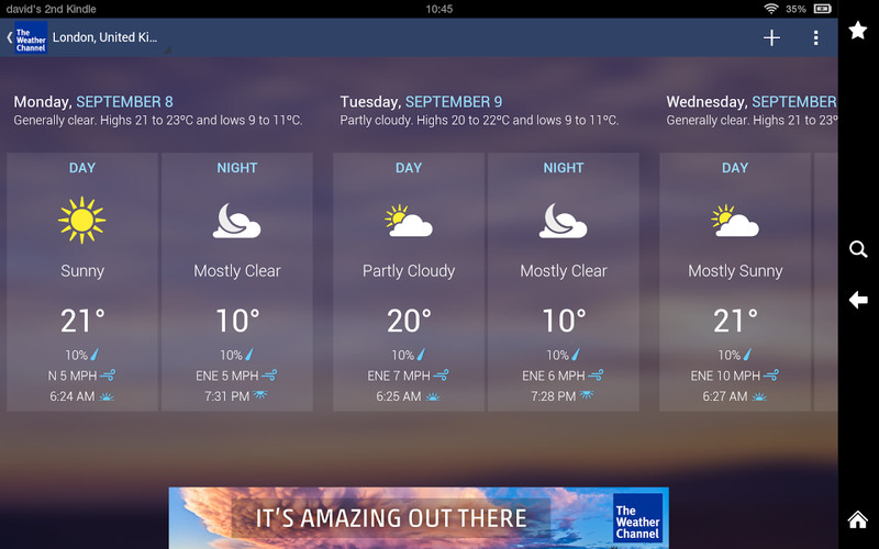 The Weather Channel screenshot 13