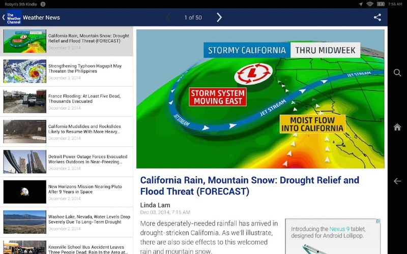 The Weather Channel screenshot 14