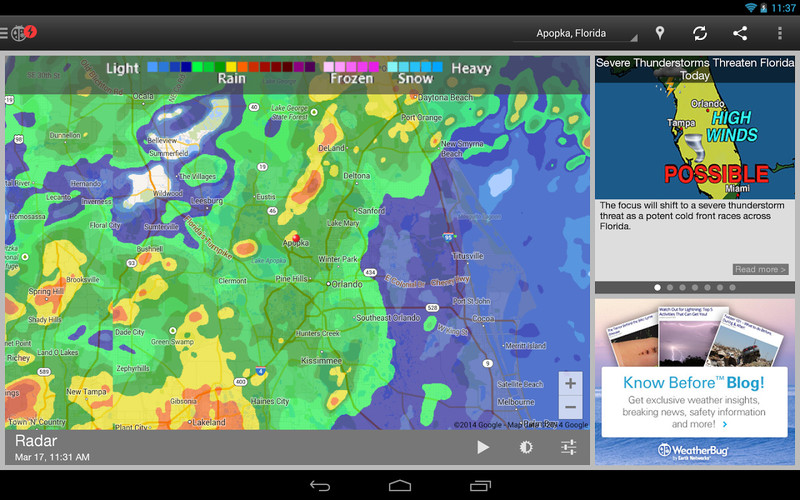 WeatherBug screenshot 6