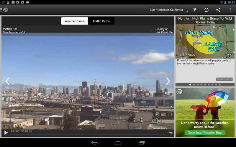 WeatherBug screenshot 7