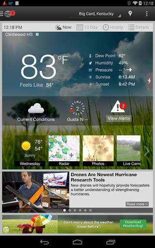 WeatherBug screenshot 9