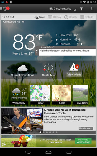 WeatherBug screenshot 10