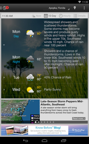WeatherBug screenshot 12