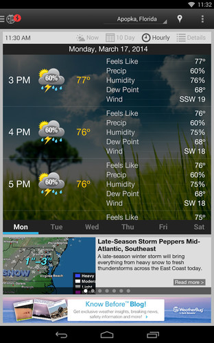 WeatherBug screenshot 13