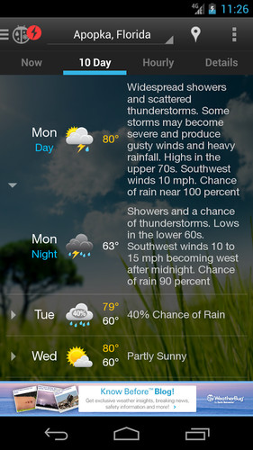 WeatherBug screenshot 20